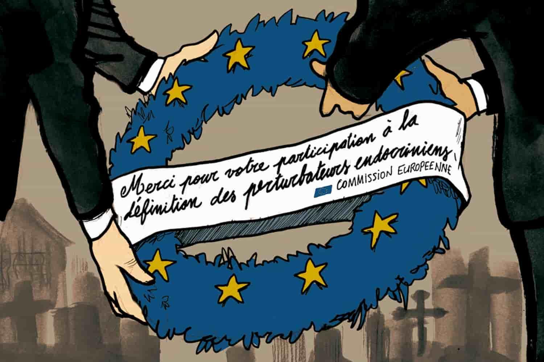 Absence de réglementation européenne des perturbateurs endocriniens