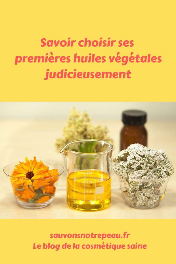 Savoir choisir ses premières huiles végétales judicieusement