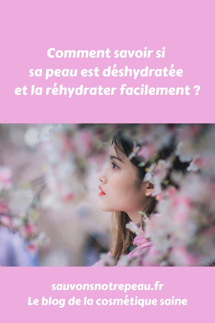 Comment savoir si sa peau est déhydrater et la réhydrater facilement ?