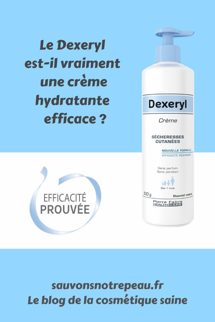 La crème hydratante Dexeryl est-il vraiment une crème hydratante efficace ?