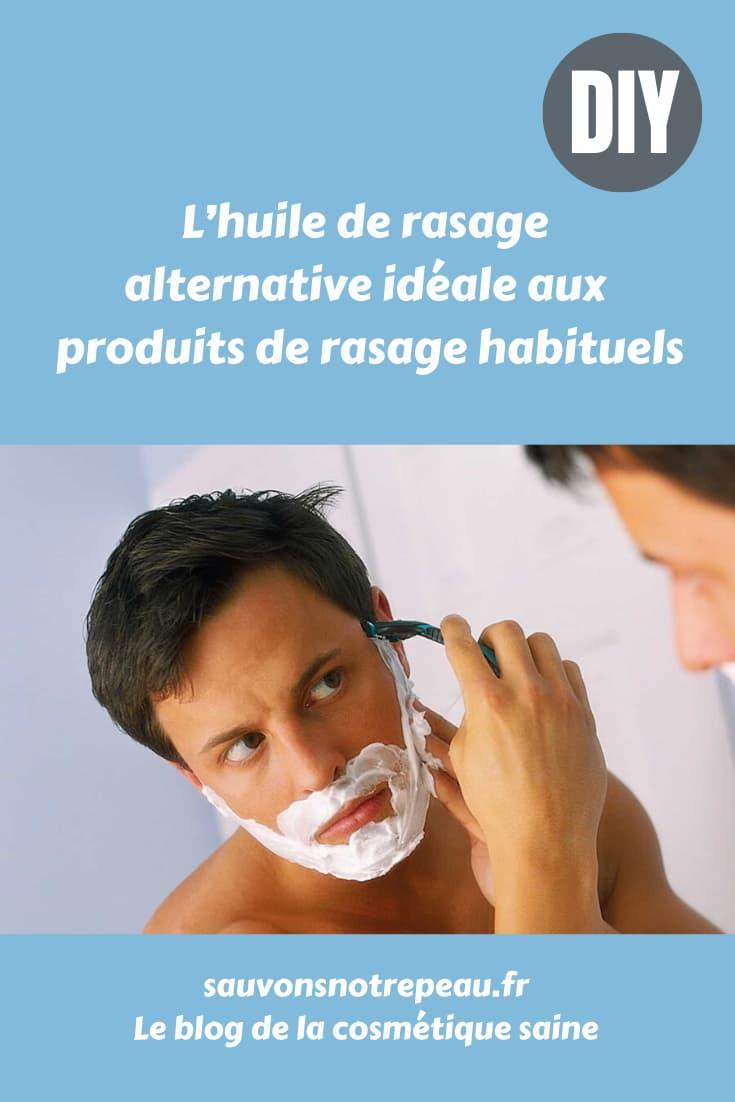 L'huile de rasage, alternative idéale aux produits de rasage conventionnels