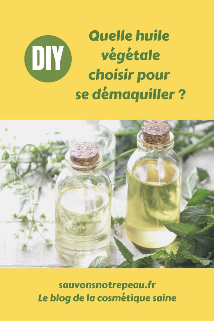 Quelle huile végétale choisir pour se démaquiller ?