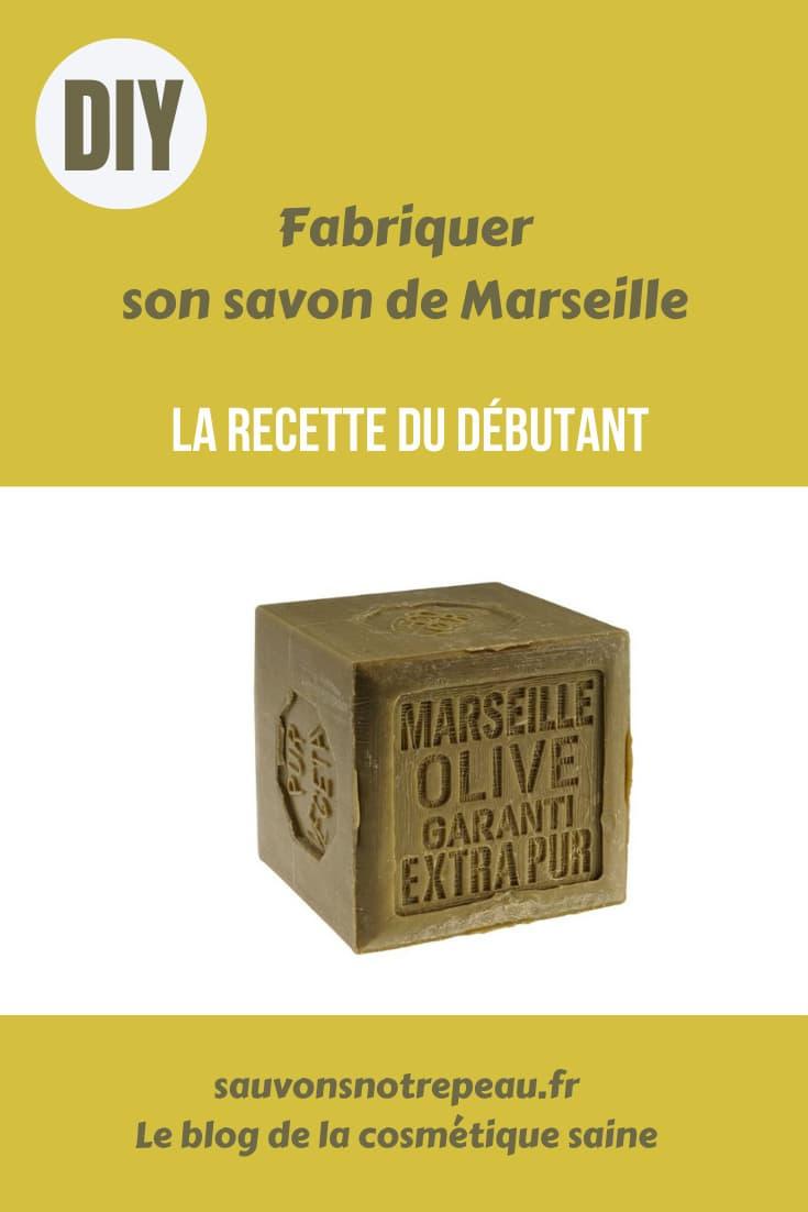 Fabriquer son savon de Marseille, la recette du débutant