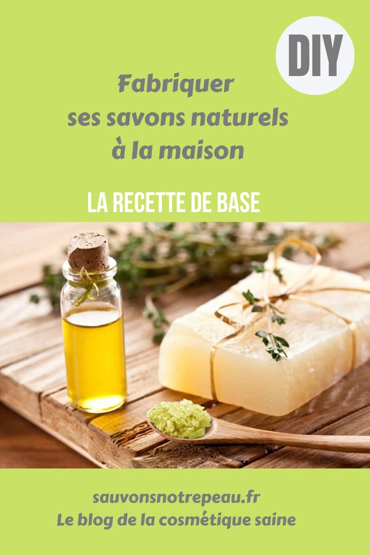 Fabriquer ses savons naturels à la maison