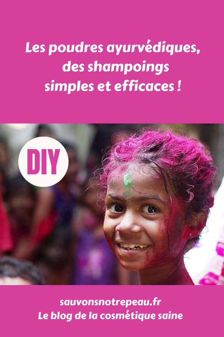 Les poudres ayurvédiques, des shampoings simples et efficaces