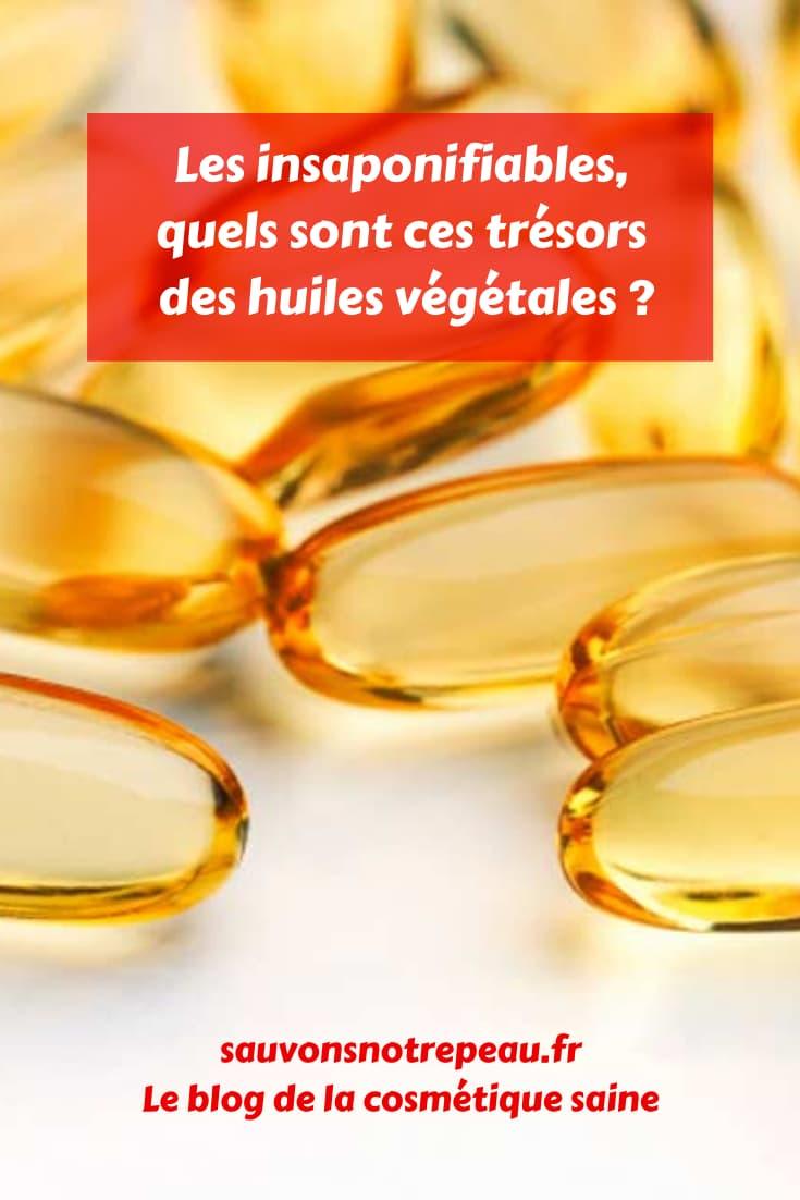 Découvrez les insaponifiables, les trésors insoupçonnés des huiles végétales