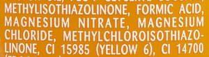 Methylisothiazolinone et methylchloroisothiazolinone, des irritants qui vont de paire