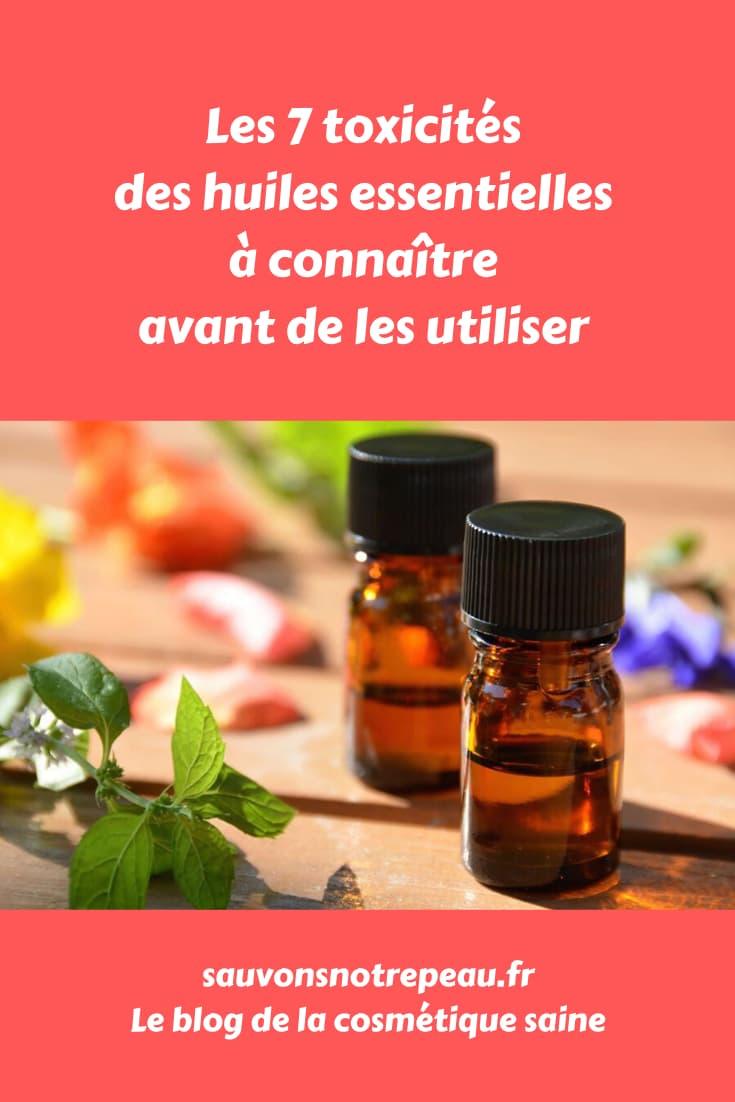 Les 7 toxicités des huiles essentielles à connaître avant de les utiliser