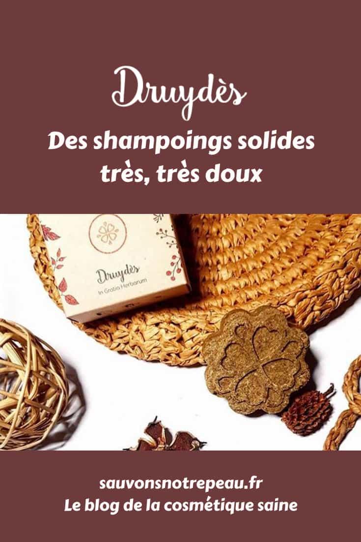 Druydès, des shampoings solides très, très doux