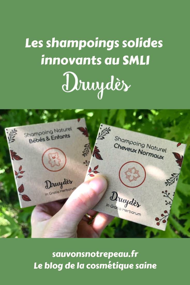 Les shampoings solides innovants au SMLI Druydès