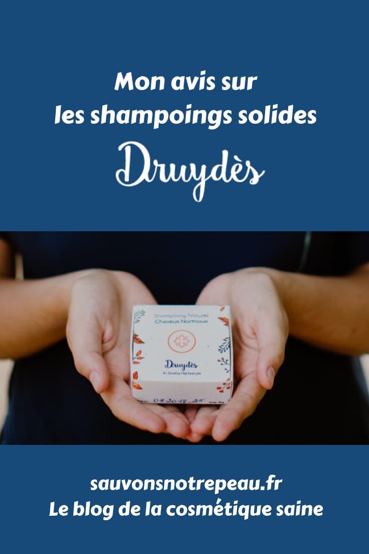 Mon avis sur les shampoings solides Druydès