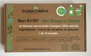 Maxi kit DIY mon ménage au naturel Les petits colibris