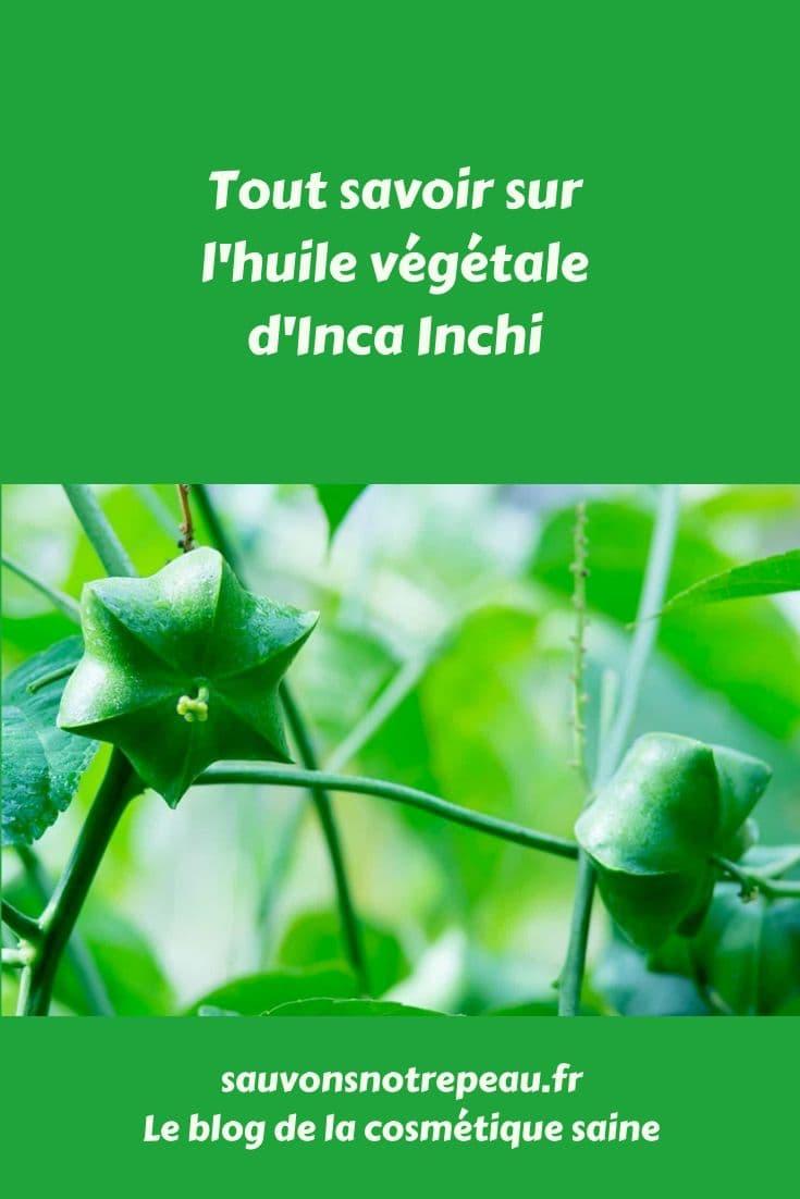 Découvrez l'huile végétale d'Inca Inchi