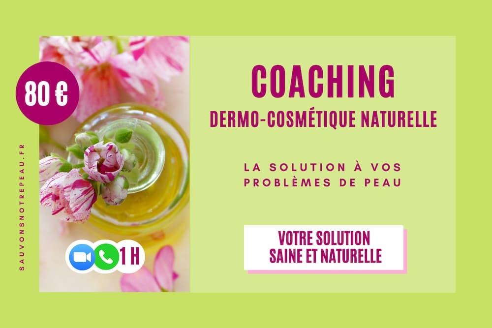 Coaching Dermo-Cosmétique Naturelle