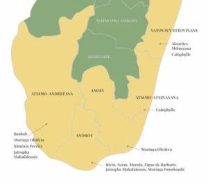 Localisation des cultures de Comptoir des Huiles