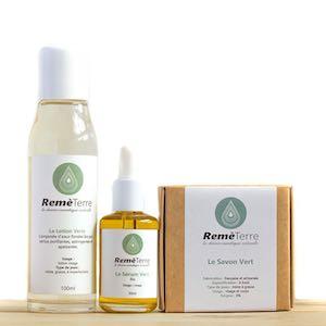 Protocole Vert pour peaux acnéiques ou à imperfections Remèterre