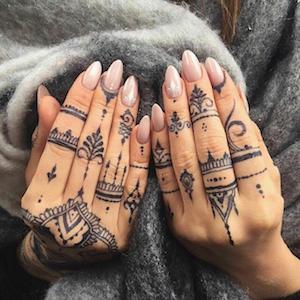 Freehand Minimalist Tattoo