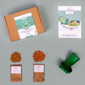 Kit DIY Je fais pousser mes graines germées Pousse-Pousse