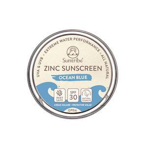Ecran solaire SPF 30 bleu Suntribe