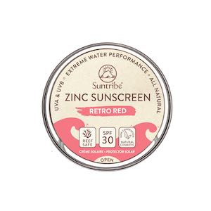 Ecran solaire SPF 30 rouge Suntribe