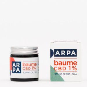 Baume CBD broad spectrum 1 % Arpa