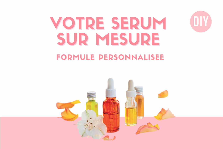 Le sérum personnalisé formulé sur mesure Sauvons notre peau