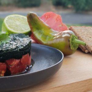 Le Guacamoli, le guacamole à la spiruline fraîche Umamiz