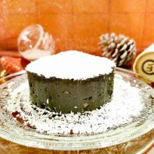 Le fondant chocolat à la spiruline fraîche Umamiz