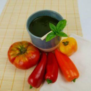 La Gaspachuline, le gaspacho à la spiruline fraîche Umamiz