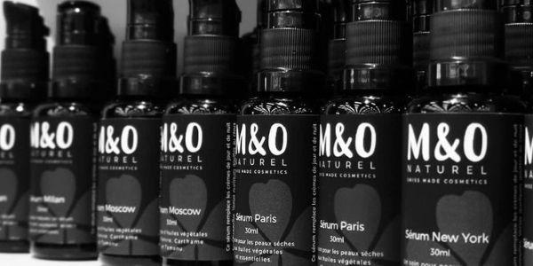 Gamme cosmétique M&O Naturel
