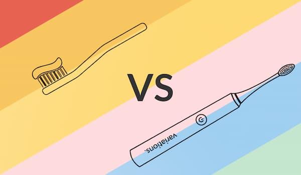 Les avantages d'une brosse à dents soniques comparé à la brosse à dents manuelle