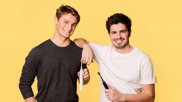 Alexis et Martin, les créateurs de la brosse à dents sonique MyVariations